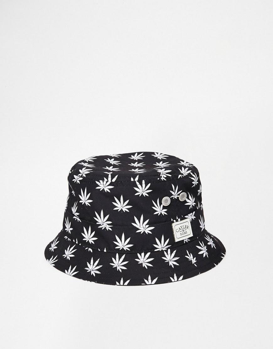 Image 1 ofCayler & Sons Budz 'n' Stripes Bucket Hat