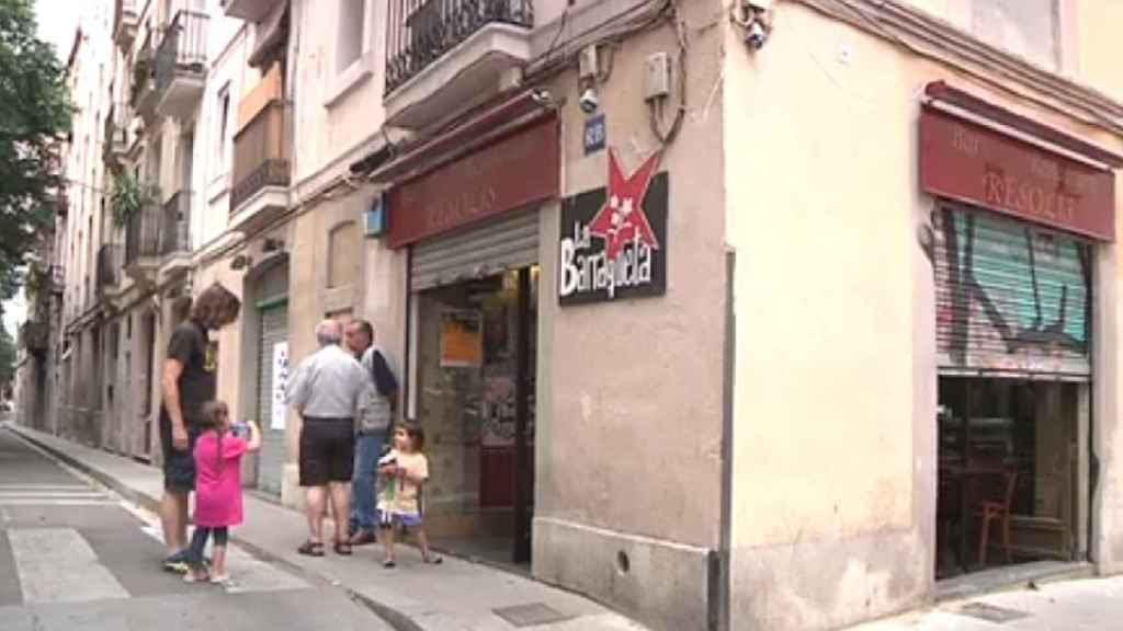 La Barraqueta fue un restaurante antes de convertirse en un ateneo independentista