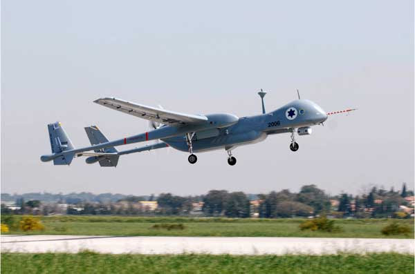 An IAI Heron, one of the most prominent drones outside the U.S. (Israeli Aerospace Industries)