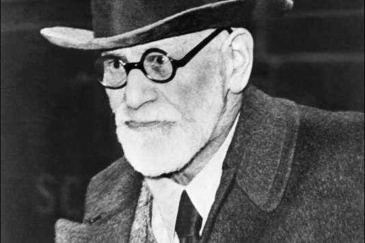 Le psychanalyste autrichien Sigumund Freud, le 5 août 1938.