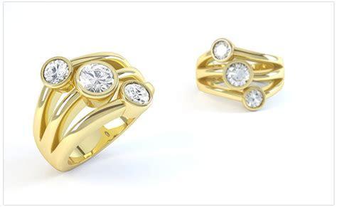 Raindance Inspired Diamond Rings