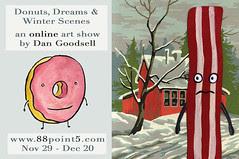 Donuts, Dreams and Winter Scenes