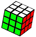 3 by 3 Rubiks Cube