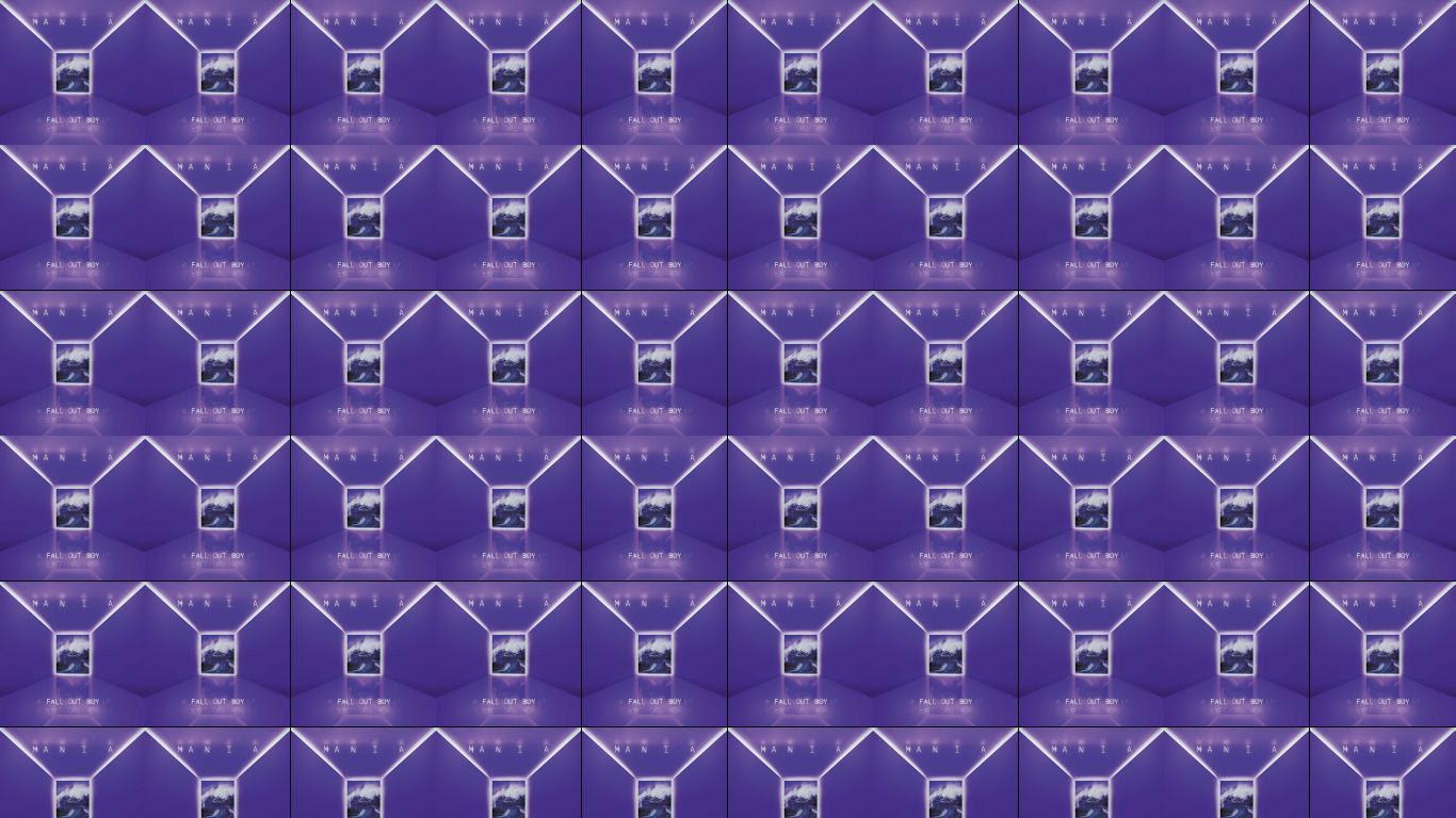 Fall Out Boy Mania Wallpaper Tiled Desktop Wallpaper