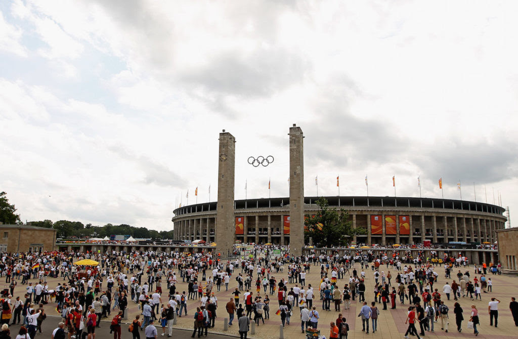 The Berlin Olympiastadion was originally built for the 1936 Olympic Games. (Scott Heavey/Getty Images)