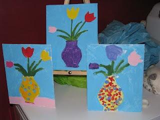 JeNNspeak: Birthday Party Paint Studio