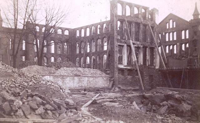 Academy of Sacred Heart ruins