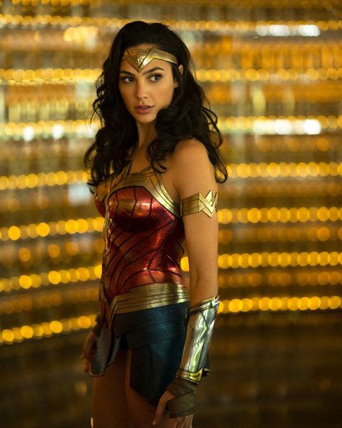 A promo pic of Diana Prince in all her Amazonian beauty in WONDER WOMAN 1984.