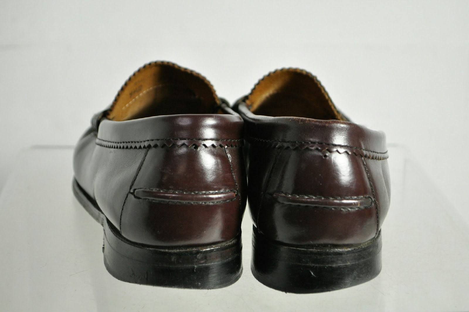 Dexter Brown Leather Penny Loafer Shoes Size 9.5 D
