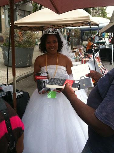 Author Kontrena Clark @ Harlem Book Fair