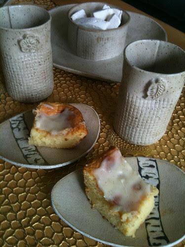 White Brownies & Ginger Marshmallows