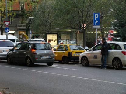 L'ultimo taxi giallo di Milano