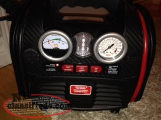 Costco Battery Charger Tire Pump Light Mount Pearl