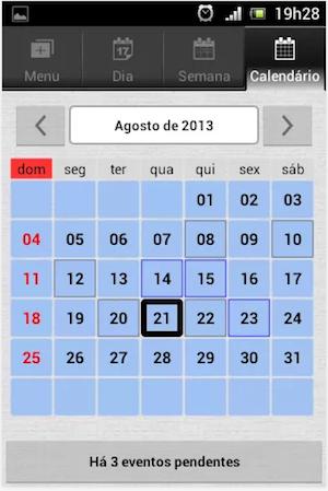 Aplicativo Agenda do Estudante (Foto: Divulgação/App Store)