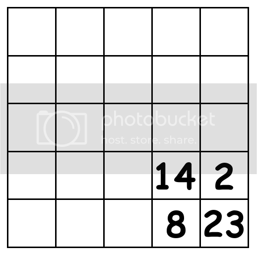 5 by 5 grid Puzzle 4