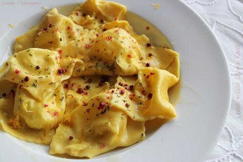 Lemon & Goat Cheese Ravioli 4