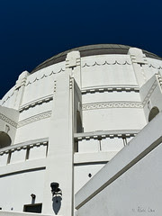 Griffith Observatory telescope tower