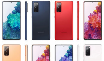 Galaxy S20 FE and S20 FE 5G show up on Samsung's website