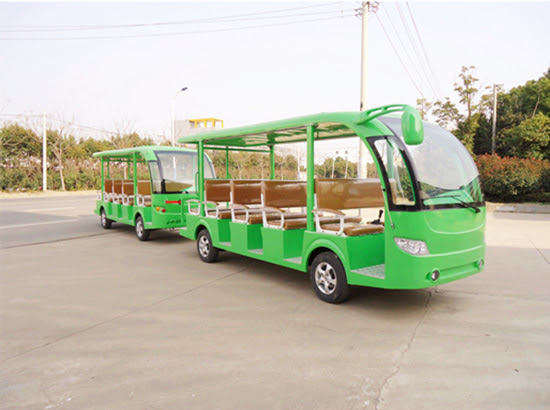 28 seat green electric train for sale