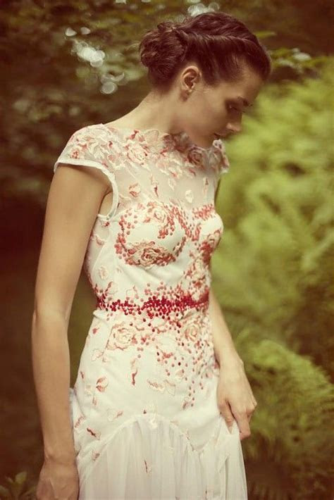 24 best Embroidered wedding dress images on Pinterest