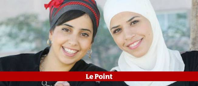 """Elinor habite une colonie juive, Selma, le village arabe de Kafr Kassem. Elles ont sympathisé en participant à l'émission """"Masterchef""""."""