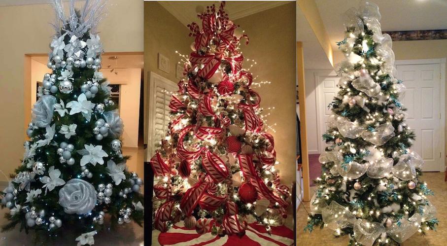 50 Hermosas Ideas Para Decorar Tu árbol De Navidad En Diferentes