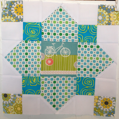 January bee blocks for Jenni