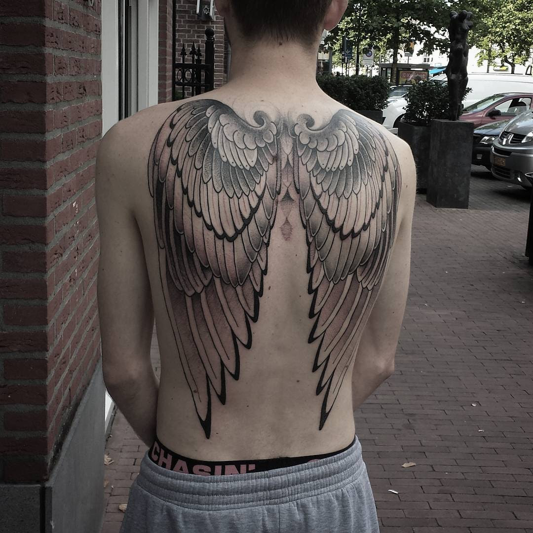 Angel Wing Tattoo Best Tattoo Ideas Gallery