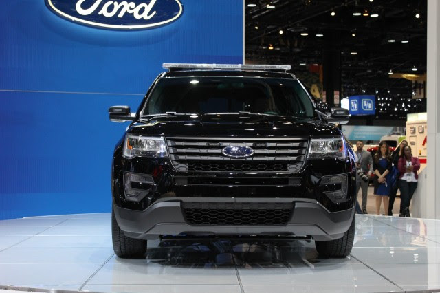 2016 Ford Police Interceptor Utility - 2015 Chicago Auto Show live ...