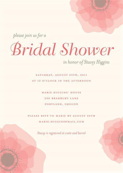 Photo : Bridal Shower Invitations Wedzu Image