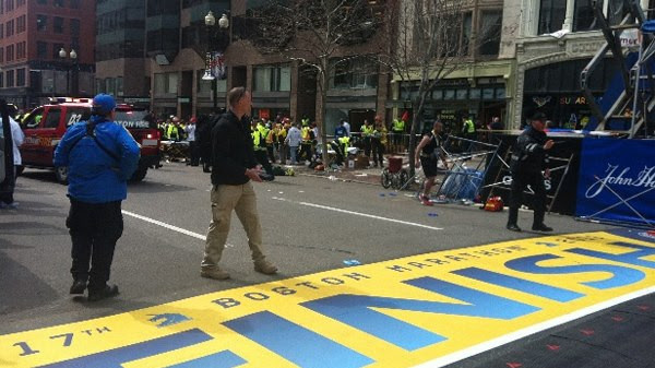 More Photos Show Private Military Security Running Drills at Boston Marathon The Craft Boston Finish Line