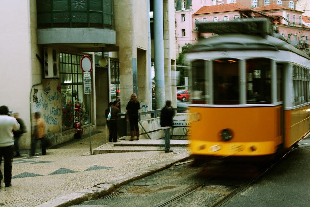 Bairro da Mouraria em Lisboa