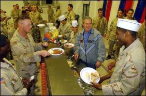Bush Serving Turkey : Scoop.co.nz