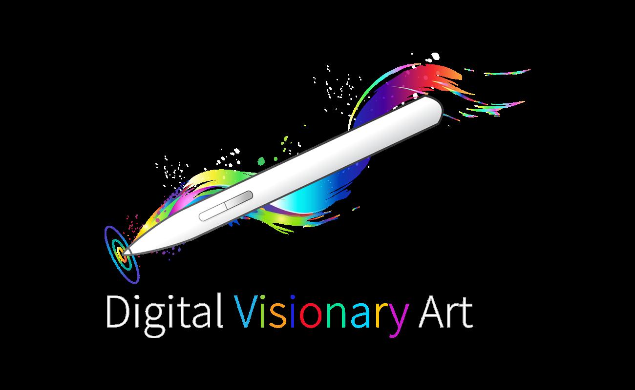 Logo design - Louis Dyer Visionary Digital Artist