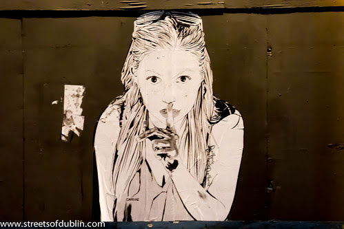 Smithfield at Night - Street Art by infomatique