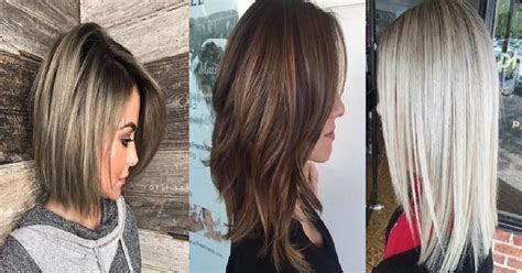 medium length haircuts  thick hair hairslondon