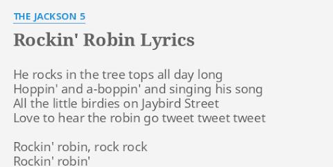 All The Little Birdies Go Tweet Tweet Tweet Lyrics