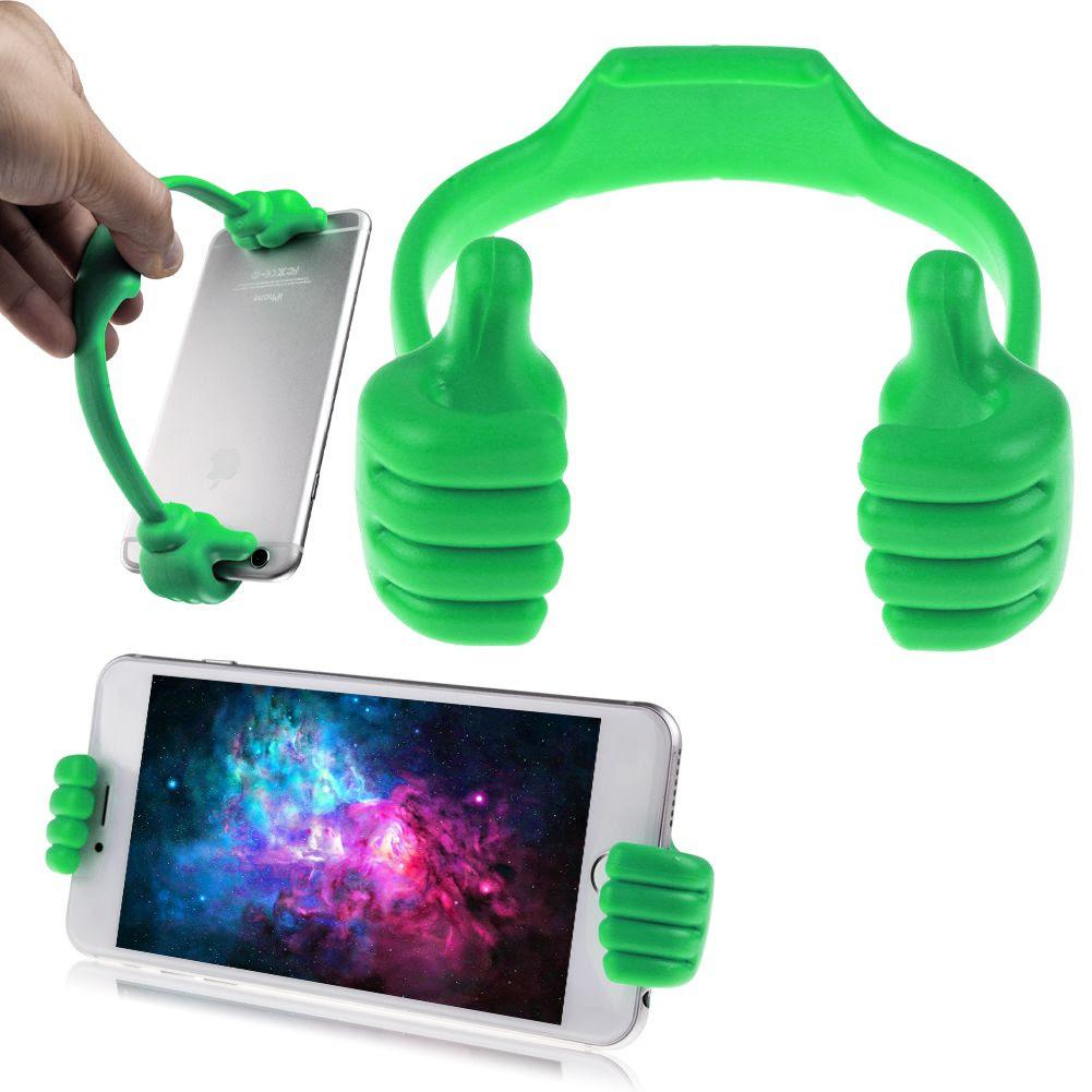 Cute Thumb Phone Cradle Desk Stand Bracket Holder Mount ...