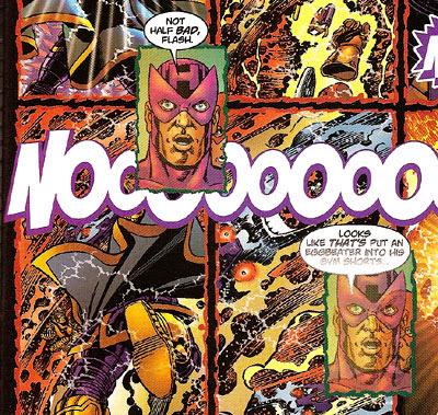 Avengers/JLA #4 panels