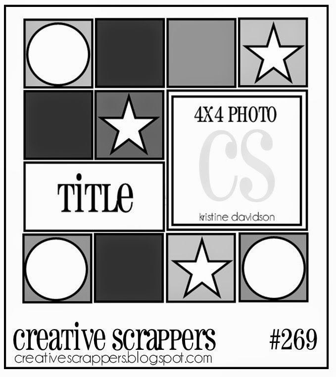 Creative Scrappers: CS Sketch 269 | Reveal with MCS