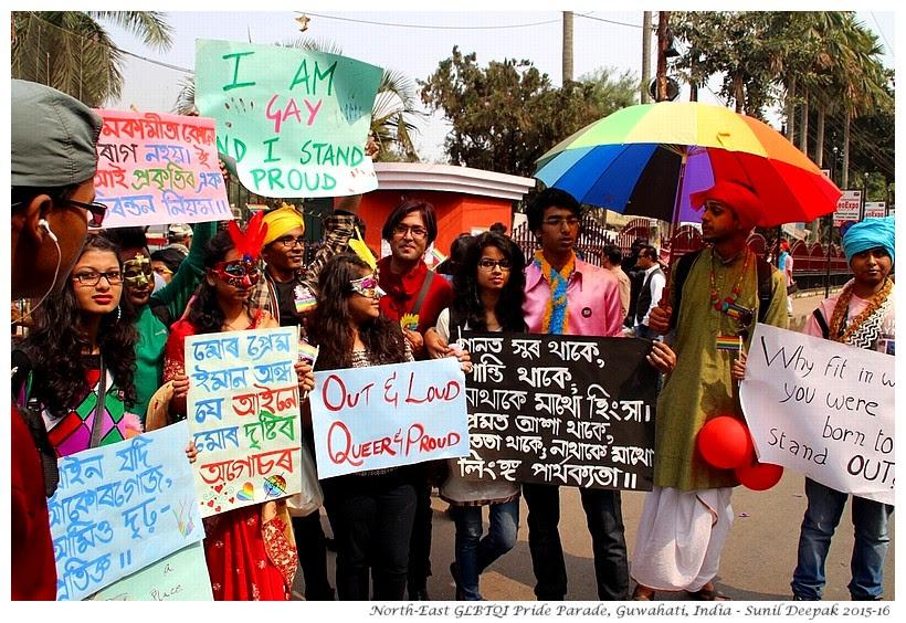 GLBTQI Pride Parade, Guwahati, India - Images by Sunil Deepak