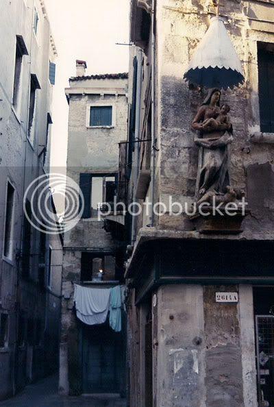 Venice street corner