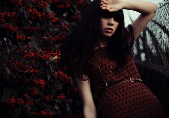 - red berries -