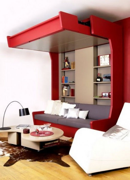 Extra Bed Design Decorating Ideas for Limited Space by Espace Loggia  Home Design Inspiration