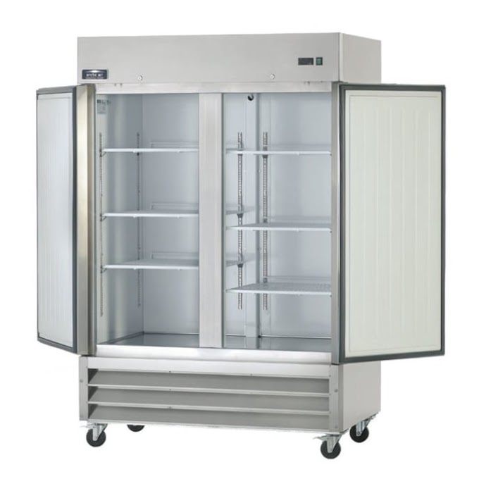 Arctic Air Commercial Kitchen Refrigerator with Two Section Door