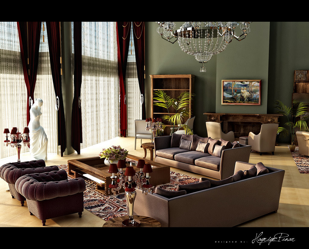 Home & Garden: 10 Classic and Retro Style Living Rooms: Interior ...