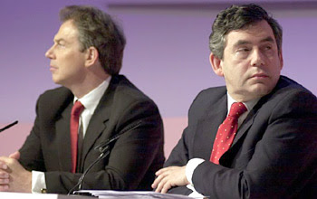 Tony Blair og Gordon Brown