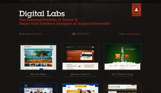 darksites02 50 Diseños web oscuros para inspirarte