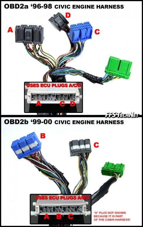 Wiring Diagram Needed For Green Plug 14 Pin Ecu Side Honda Tech Honda Forum Discussion