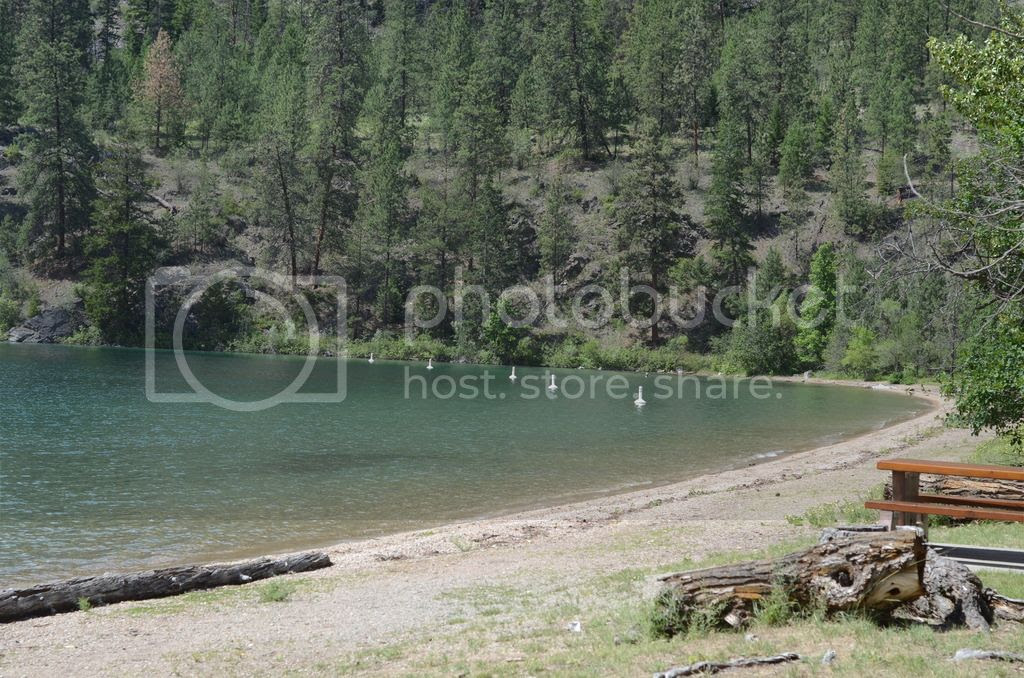 kalamalka lake provincial park vernon british columbia